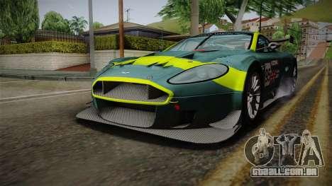 Aston Martin Racing DBR9 2005 v2.0.1 para o motor de GTA San Andreas