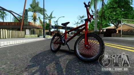 BMX Enhance para GTA San Andreas esquerda vista