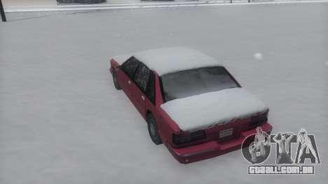 Premier Winter IVF para GTA San Andreas vista direita