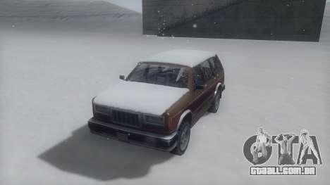 Landstalker Winter IVF para GTA San Andreas