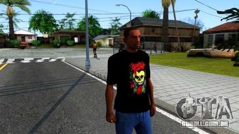 Bullet For My Valentine T-shirt para GTA San Andreas segunda tela