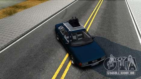 Audi 80 B3 para GTA San Andreas vista interior