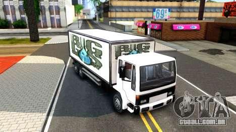 DFT-30 Box Truck para GTA San Andreas esquerda vista