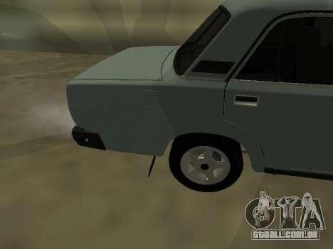 2107 para GTA San Andreas vista direita