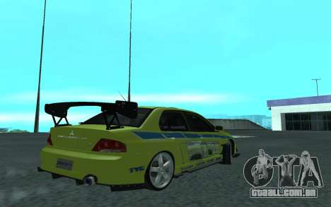 Mitsubishi Lancer Evolution VII para GTA San Andreas