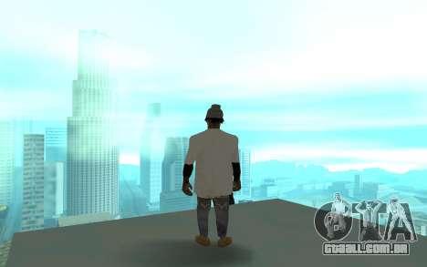 Grove Street Gang Member 2 para GTA San Andreas terceira tela