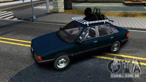 Audi 80 B3 para GTA San Andreas traseira esquerda vista