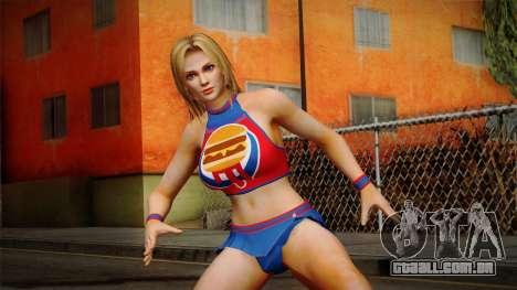 Tina Armstrong (Burger Shot) para GTA San Andreas