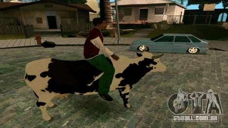 Andando na vaca para GTA San Andreas terceira tela