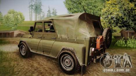 УАЗ-3151 CoD4 MW Remasterizada para GTA San Andreas