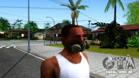 Gas Mask From S.T.A.L.K.E.R. Clear Sky para GTA San Andreas segunda tela