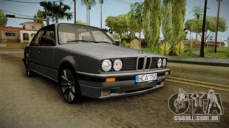 BMW M3 E30 Edit v1.0 para GTA San Andreas vista direita