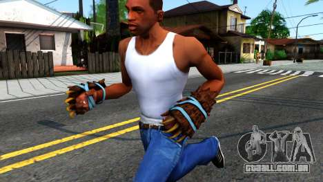 Blue Bear Claws Team Fortress 2 para GTA San Andreas