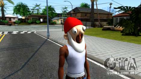 Gnome Mask From The Sims 3 para GTA San Andreas segunda tela
