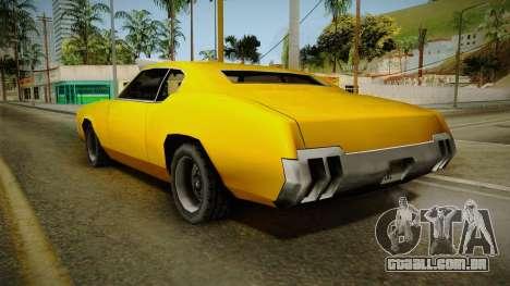 Sabre Drag para GTA San Andreas