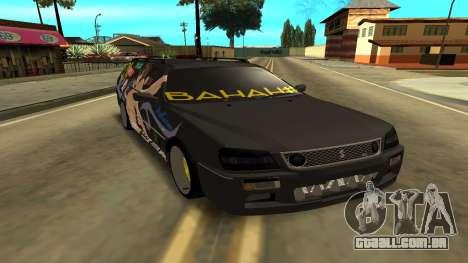 Subaru para GTA San Andreas