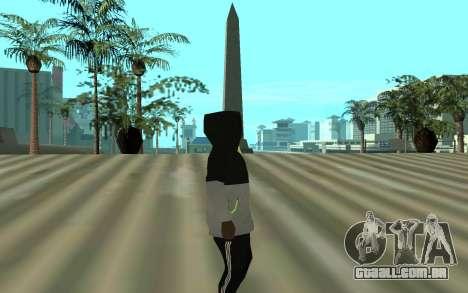 Grove Street Gang Member para GTA San Andreas segunda tela