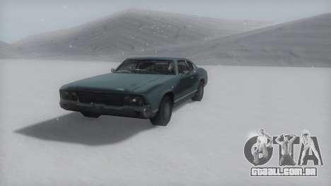 Sabre Winter IVF para GTA San Andreas vista direita