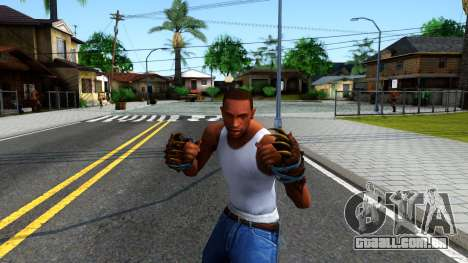 Blue Bear Claws Team Fortress 2 para GTA San Andreas terceira tela