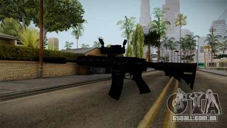 HK416 v4 para GTA San Andreas terceira tela
