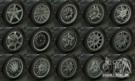 Real Wheels Pack para GTA 5