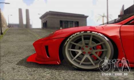 Ferrari 360 LB Work para GTA San Andreas vista interior