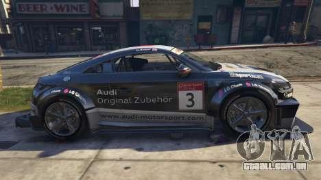 GTA 5 Audi TT cup 2015 vista lateral esquerda