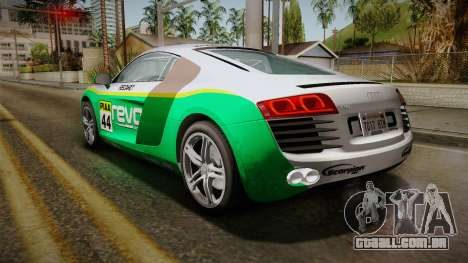 Audi R8 Coupe 4.2 FSI quattro EU-Spec 2008 YCH2 para as rodas de GTA San Andreas