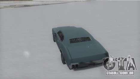 Sabre Winter IVF para GTA San Andreas esquerda vista