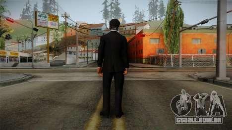 Dead Rising 3 - Nick in a Tuxedo para GTA San Andreas terceira tela