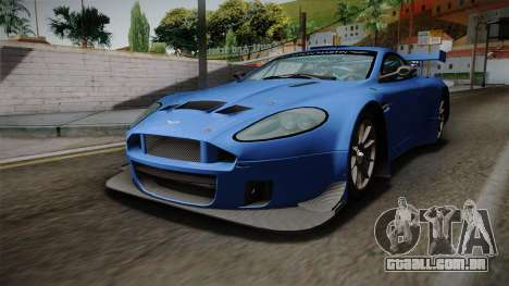 Aston Martin Racing DBRS9 GT3 2006 v1.0.6 para GTA San Andreas vista direita