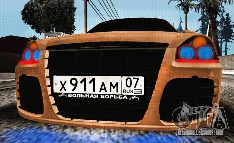Lada Priora Tuning para GTA San Andreas traseira esquerda vista