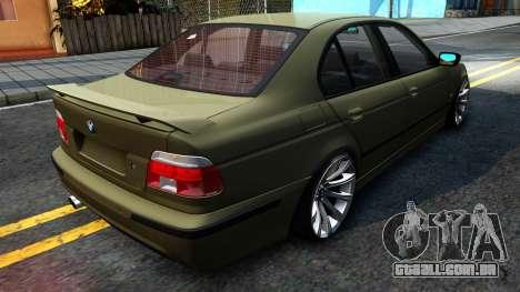 BMW 530D E39 para GTA San Andreas