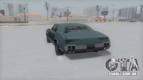 Sabre Winter IVF para GTA San Andreas