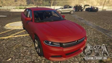 Dodge Charger Hellcat para GTA 5