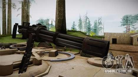 Abrams Tank para GTA San Andreas vista traseira