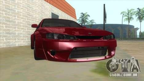 Nissan Silvia S14 Tuned para GTA San Andreas vista traseira