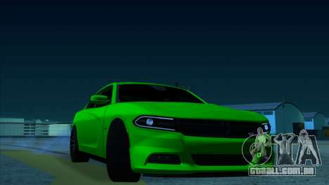 2016 Dodge Charger RT Forza Horizon 2 para GTA San Andreas