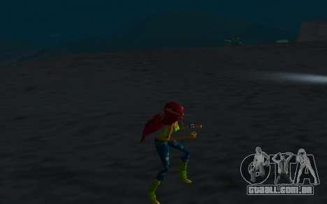 Aisha Rock Outfit from Winx Club Rockstars para GTA San Andreas por diante tela