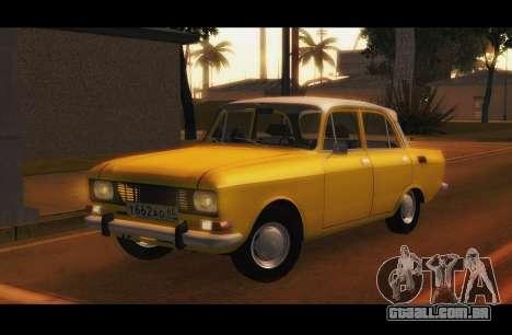 Moskvich 2140 GVR v1 para GTA San Andreas