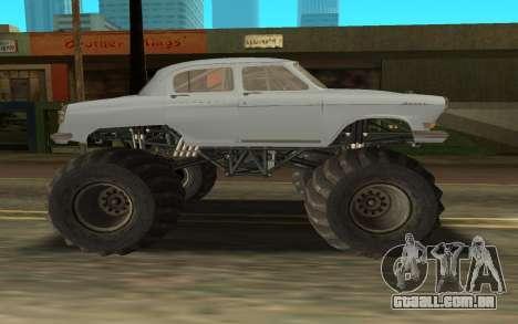 Volga GAZ21 para GTA San Andreas traseira esquerda vista