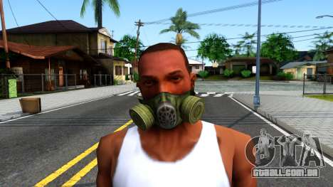 Gas Mask From S.T.A.L.K.E.R. Clear Sky para GTA San Andreas terceira tela