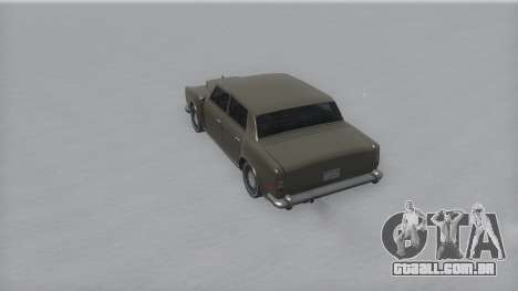 Stafford Winter IVF para GTA San Andreas vista direita
