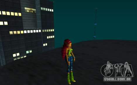 Aisha Rock Outfit from Winx Club Rockstars para GTA San Andreas