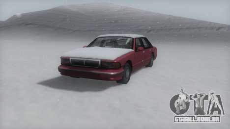 Premier Winter IVF para GTA San Andreas