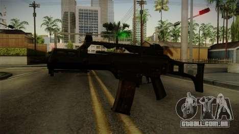 HK G36C v3 para GTA San Andreas segunda tela
