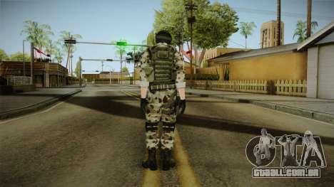 Resident Evil ORC Spec Ops v5 para GTA San Andreas terceira tela