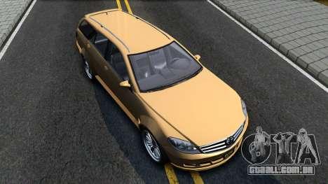 GTA V Benefactor Schafter Wagon para GTA San Andreas vista direita