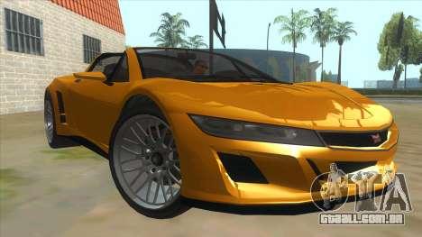 GTA V Dynka Jester Spider para GTA San Andreas