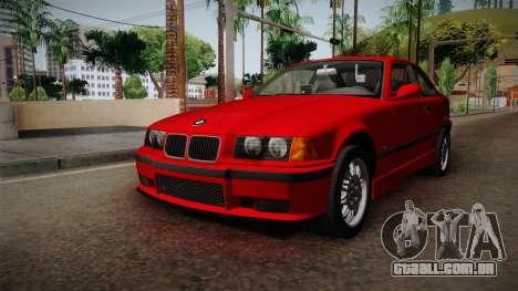 BMW 328i E36 Coupe para GTA San Andreas vista direita